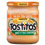 Tostitos Salsa Con Queso Dip (American Import) 424g, 15oz